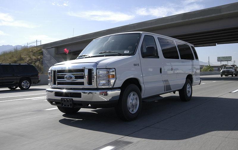 Carpool using the UTA ride share vans