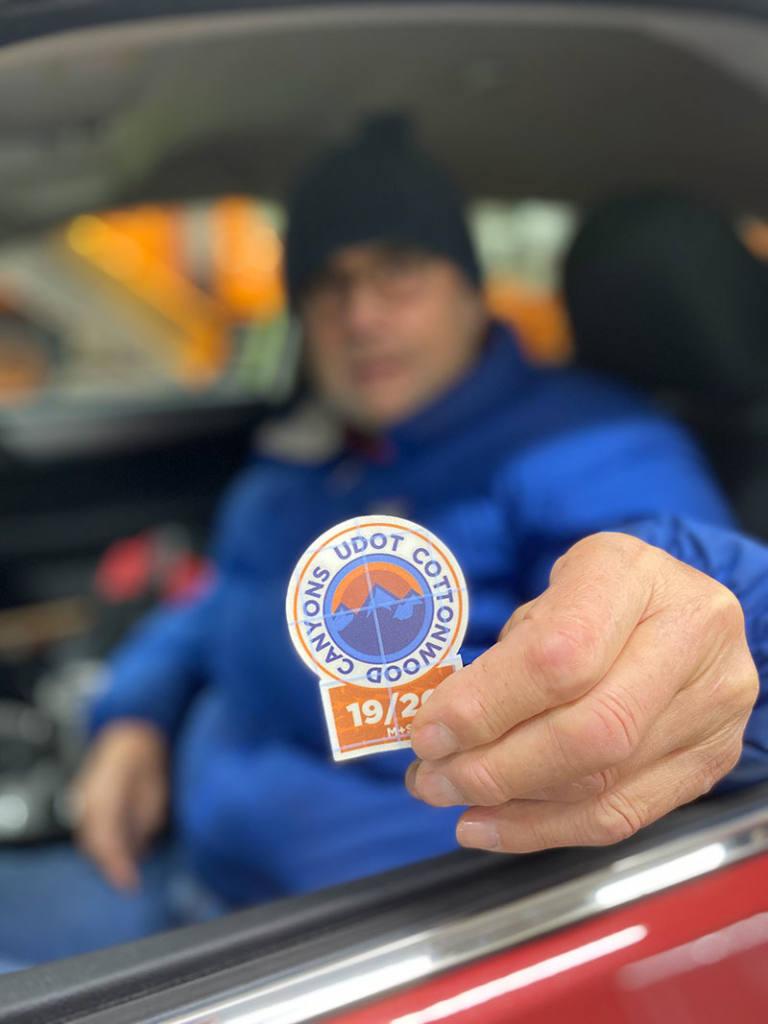 UDOT Cottonwoods pilot sticker program